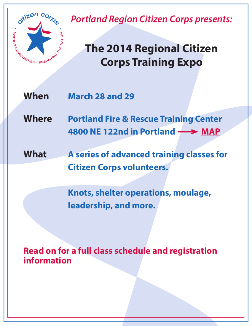 Citizen Corps Expo 2014